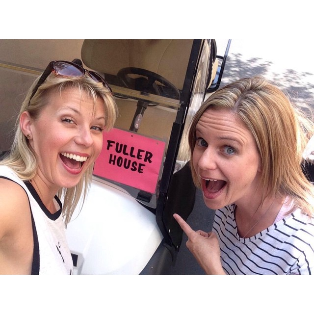 Jodie Sweetin and Andrea Barber