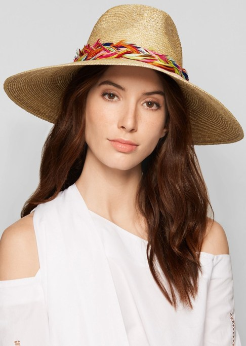 Best Sun Hats for Women  Eugenia Kim Emmanuelle Feather Trimmed Straw  Sunhat  193923bb17ca