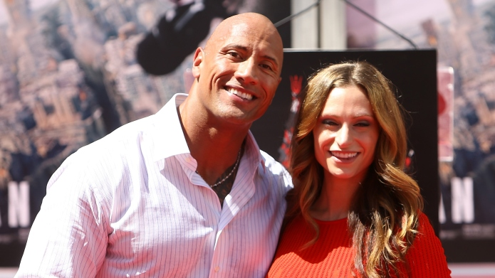 Dwayne 'The Rock' Johnson and Lauren