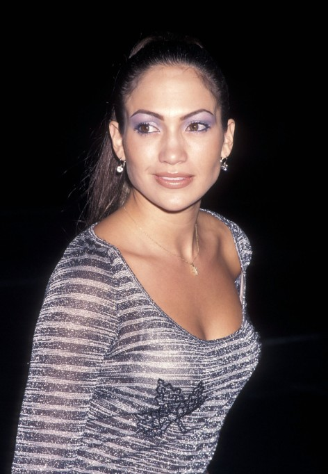 Jennifer Lopez Thin Eyebrows