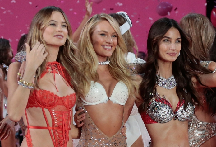 There's more to Victoria's Secret models