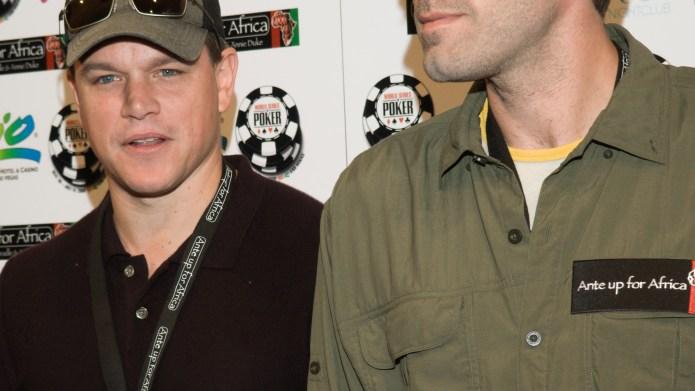 Matt Damon and Ben Affleck at