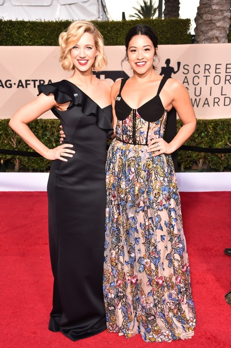 2018 SAG Awards Best Dressed: Yael Groblas & Gina Rodriguez