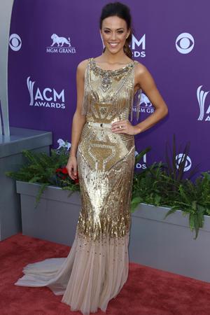 Jana Kramer at the 2013 ACM Awards
