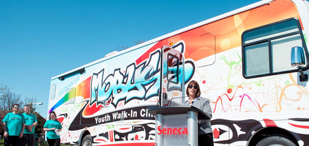 Mobile mental health clinic aims to