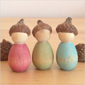 Little acorn people craft | Sheknows.com