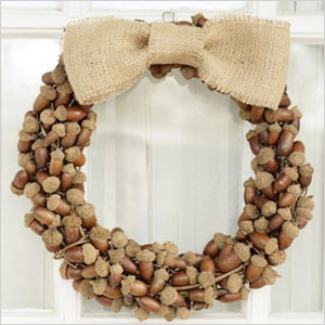 Acorn wreath craft | Sheknows.com