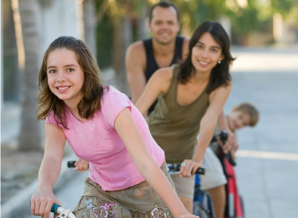 tips for being more active as a family