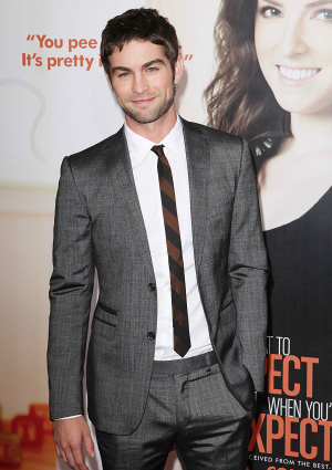 Actor Chace Crawford at the Screening of What to Expect When You're Expecting