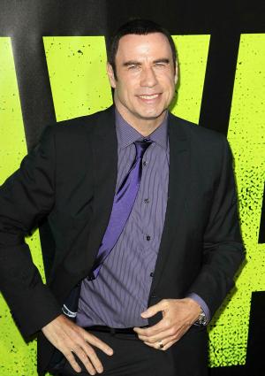 Actor John Travolta Attends Savages Premiere