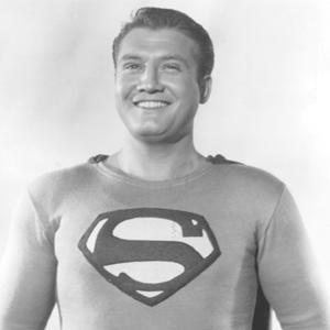 George Reeves as superman