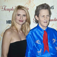 Claire Danes and Temple Grandin at the Screening of HBO Films Temple Grandin