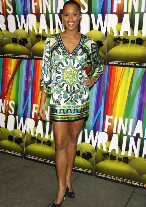 Kearran Giovanni on Opening Night of the Classic Broadway Musical Finian's Rainbow