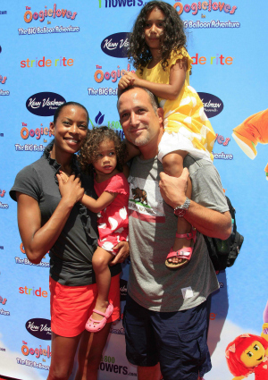 Actress Kearran Giovanni and Family