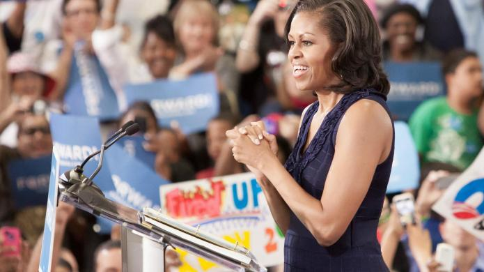 Michelle Obama makes Funny or Die