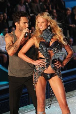 Adam Levine at Victoria's Secret Fashion Show