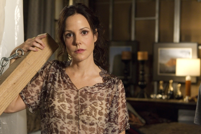 Mary Louise Parker as Nancy Botwin on 'Weeds'