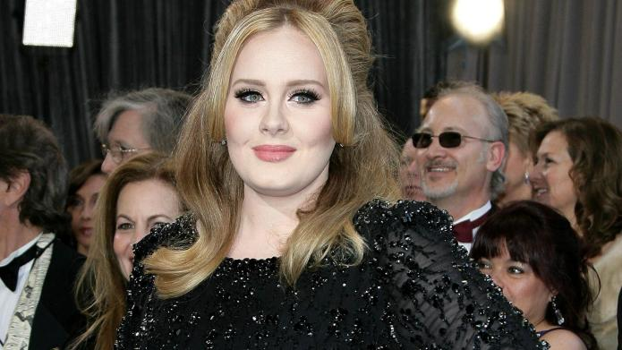 Adele dressed in drag for her