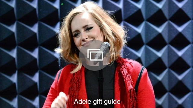 adele gift guide slideshow
