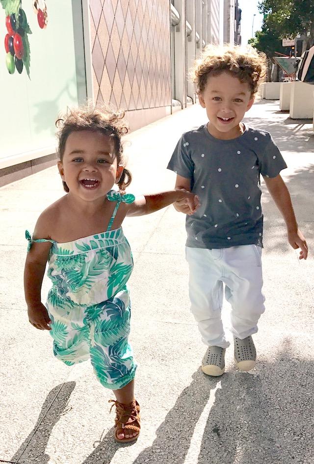 Tamera Mowry-Housley kids Aden and Ariah