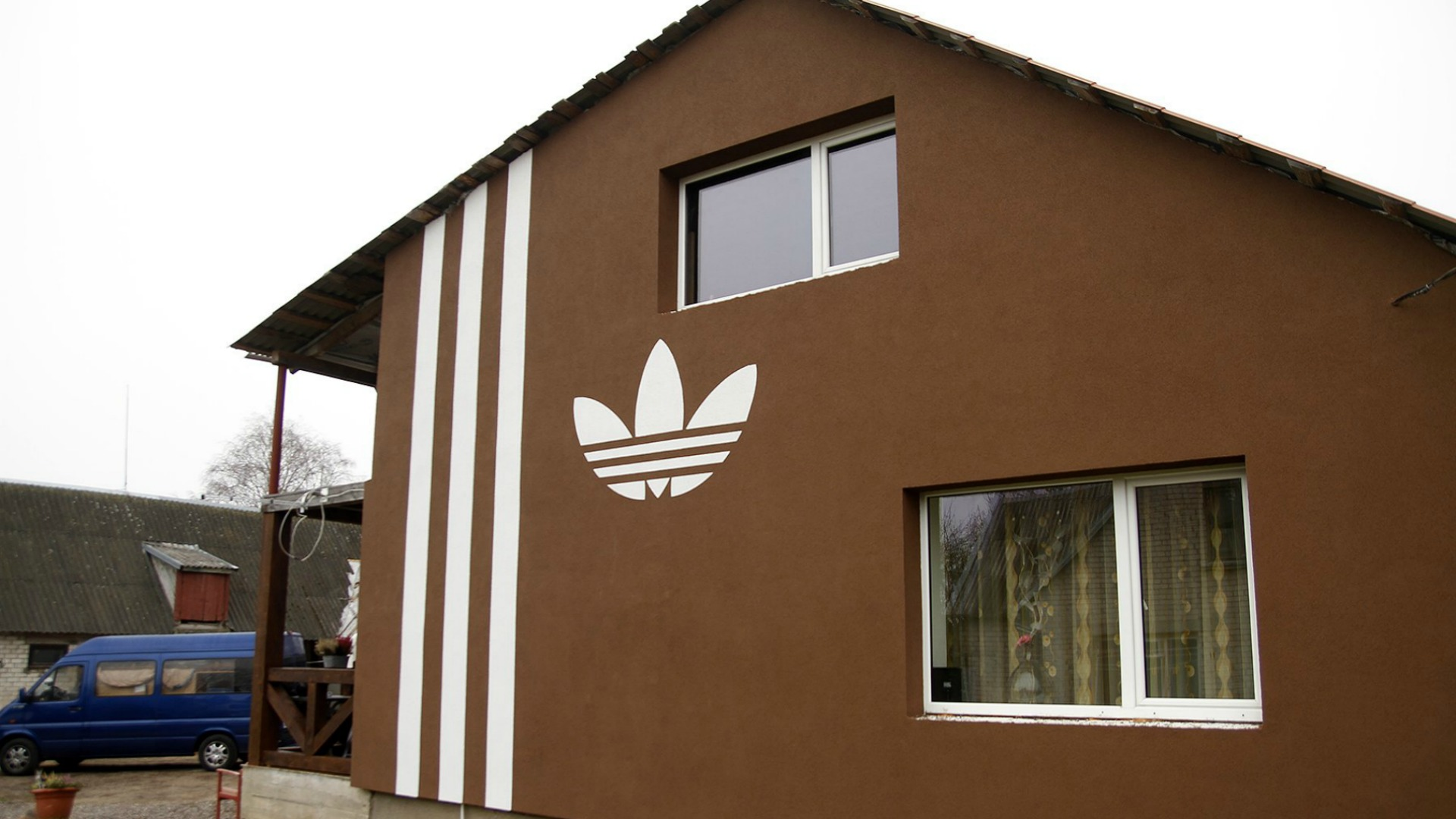 Adidas house in Lithuania