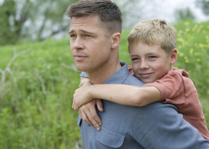 Brad Pitt in Tree of Life