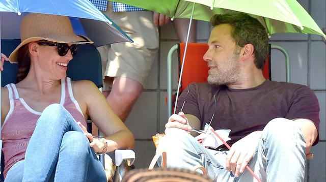 Celebrities Celebrating Independence Day: Ben Affleck & Jennifer Garner