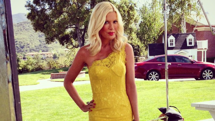 Tori Spelling is furious with Andy