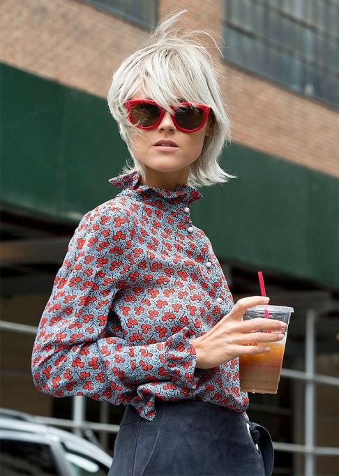 Stunning Ways To Style Short Hair   Blonde Shag