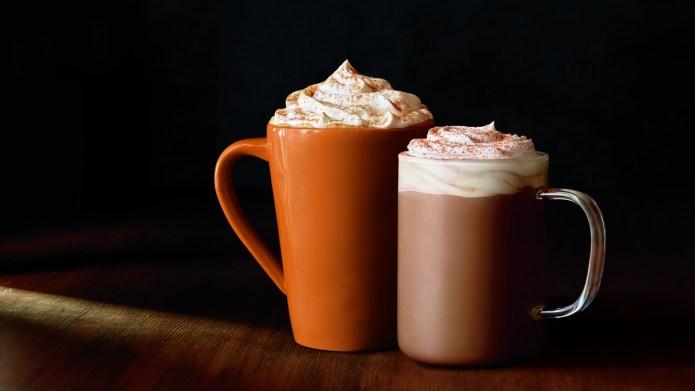 Yes, Starbucks' PSL is back, but