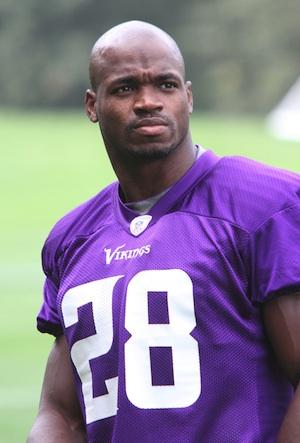 Adrian Peterson, NFL Minnesota Vikings
