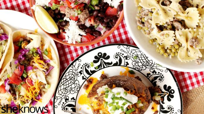 4 Easy ground beef recipes for