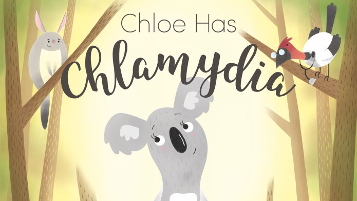 'Chloe Has Chlamydia' book cover