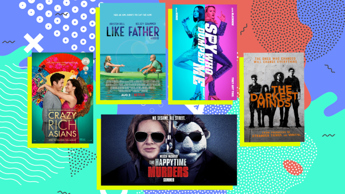 August movies collage