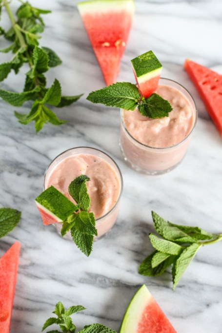 3-Ingredient Summer Smoothies | Summer Eats | Coconut watermelon smoothie