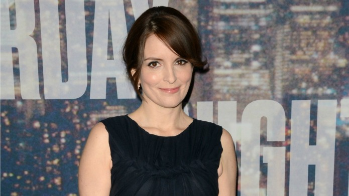 Tina Fey shares message with the