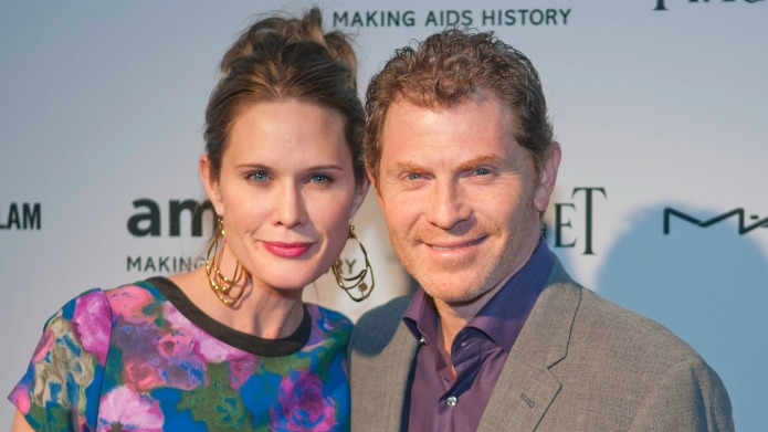 Bobby Flay's ex-wife details her rough