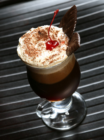 Dark Chocolate Cherryccino