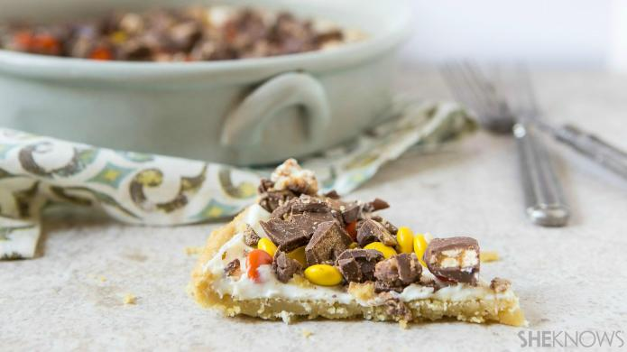 Use up leftover candy to make