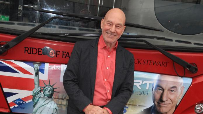 Patrick Stewart acts out the most