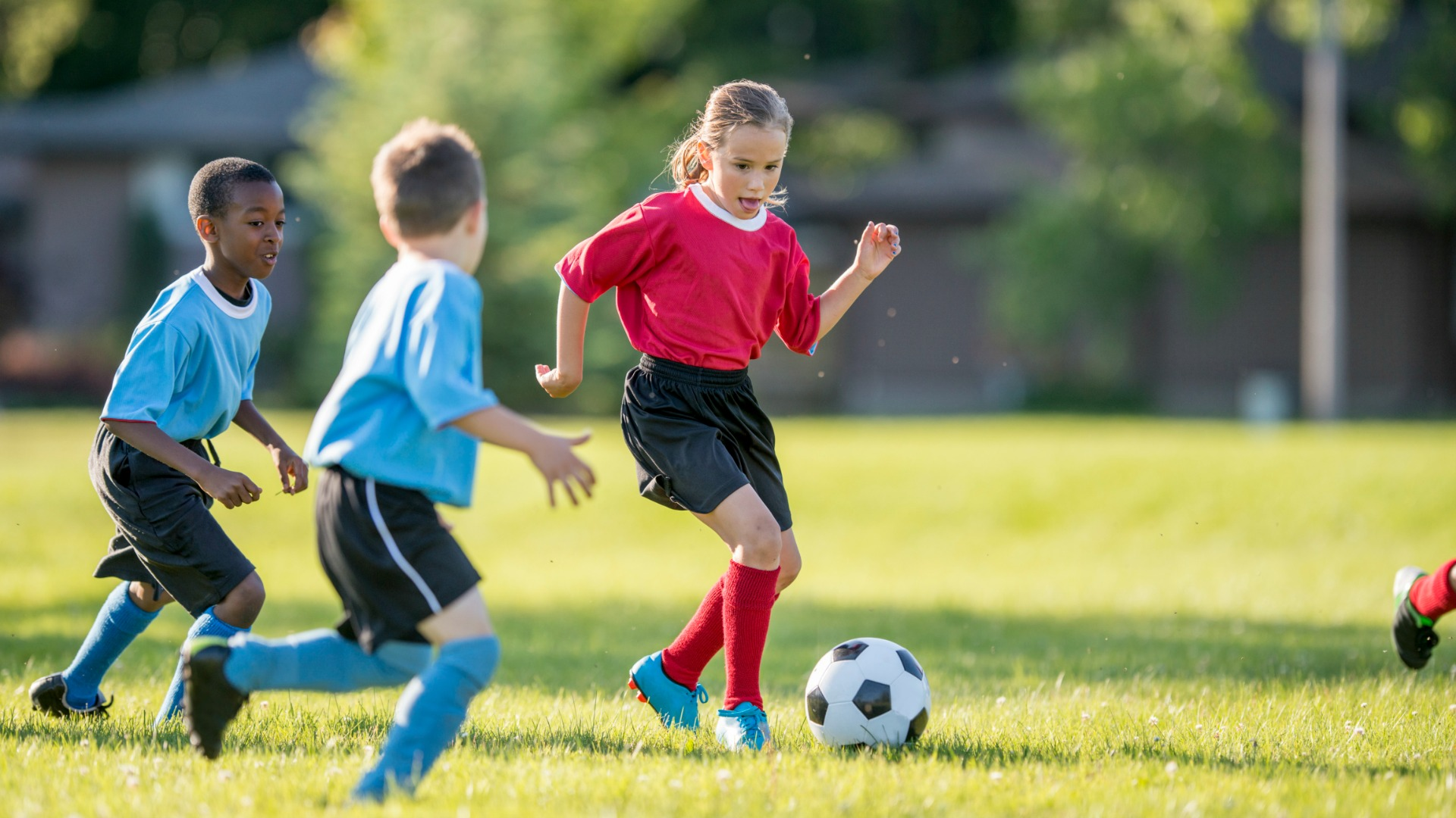 Encouraging Early Sports Skills
