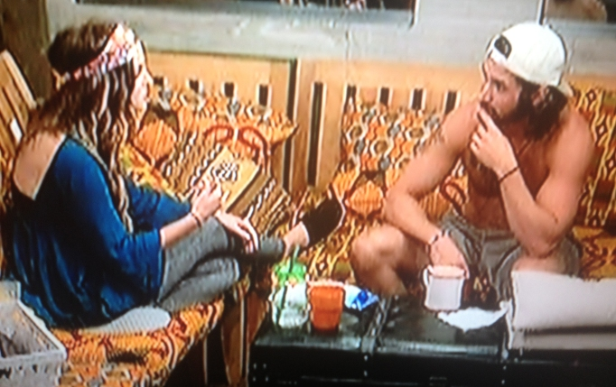 Victor and Michelle Big Brother 18