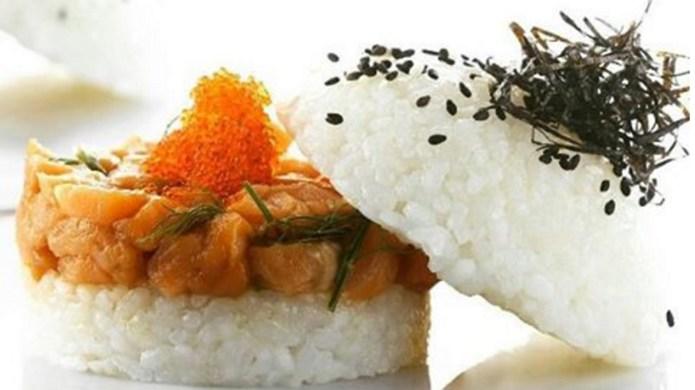Sushi burgers are the wacky food