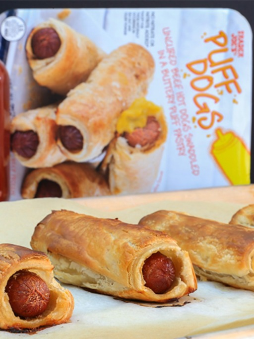 Trader Joe's Game Day Snacks: Puff Dogs
