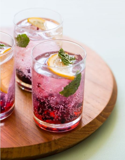 Summer cocktail recipe: Blackberry gin and tonic that tastes as good as it looks.