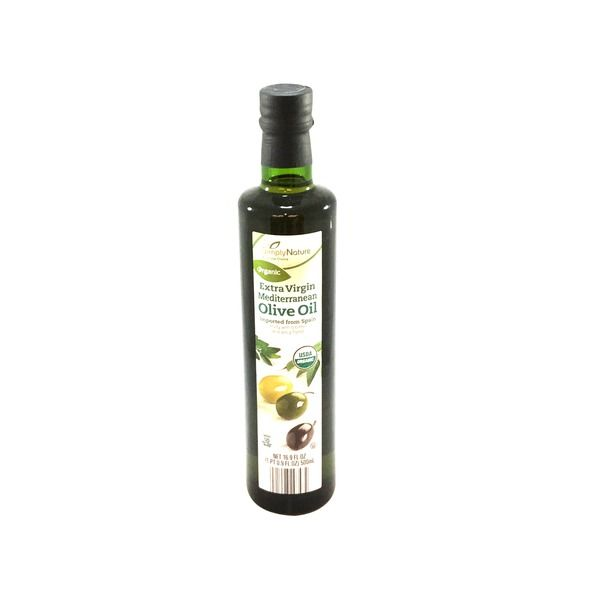 Extra virgin olive oil is very affordable at Aldi