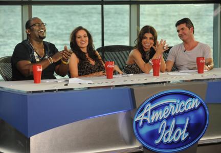 American Idol judges enjoy the scenery