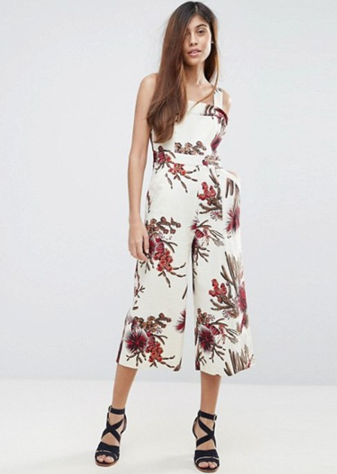 Dressy Jumpsuits: Whistles Cactus Print Jumpsuit | Summer Fashion 2017