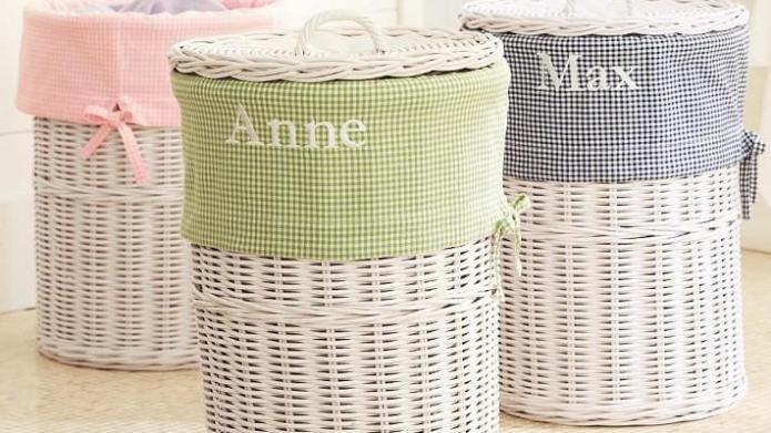 10 Cute laundry-sorting bins for kids