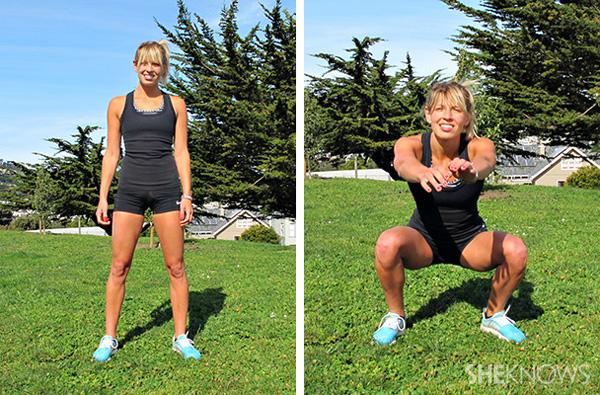 Air squats